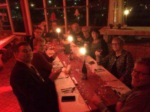 Kerstdiner 2015 aan tafel 4