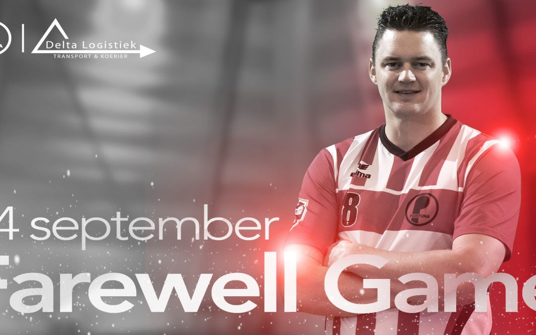 14 september: Farewell Game Marcel Segaar