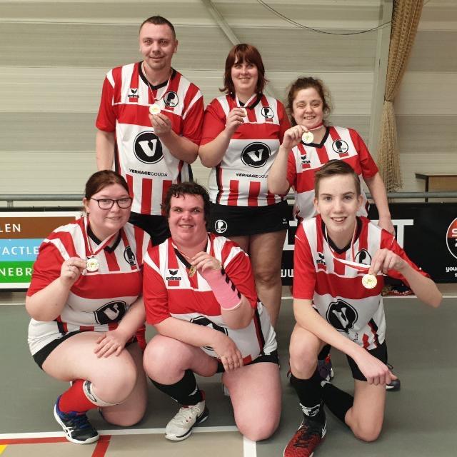 G-korfballers Fortuna/Delta Logistiek kampioen!